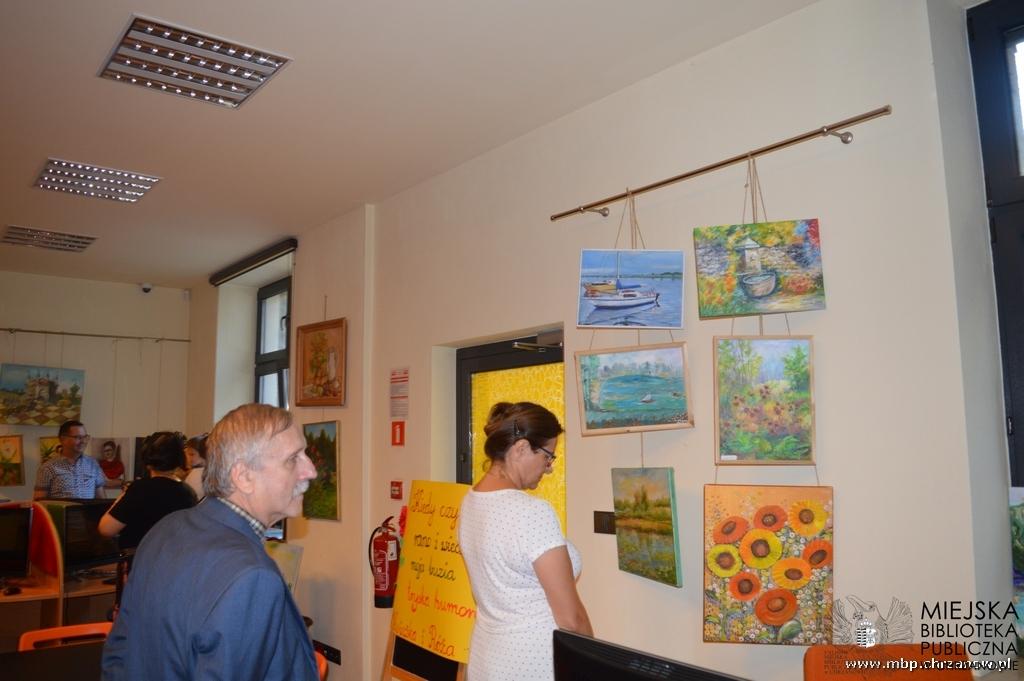 Finisaż wystawy Stowarzyszenia Twórców Kultury In Gremio w Chrzanowie