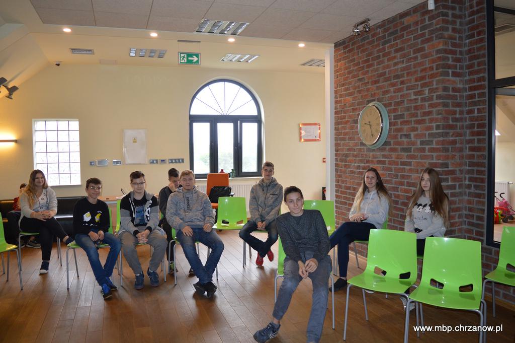 Bezpieczeństwo w sieci – lekcje biblioteczne dla uczniów Szkoły Podstawowej w Płazie