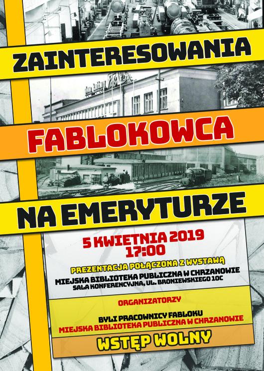 Zainteresowania Fablokowca na emeryturze