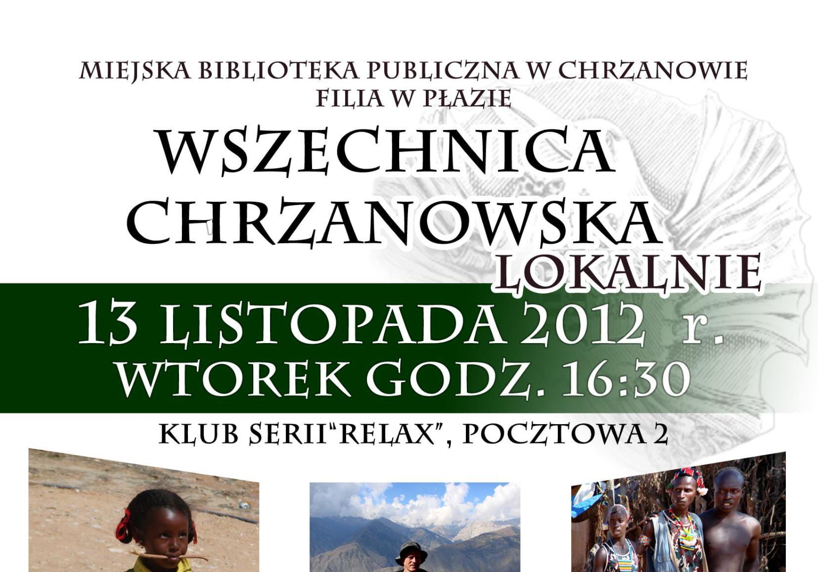 Wszechnica Chrzanowska Lokalnie