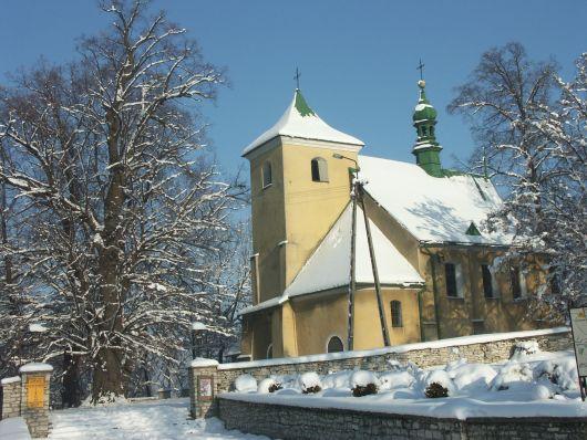 Kościół z zimie