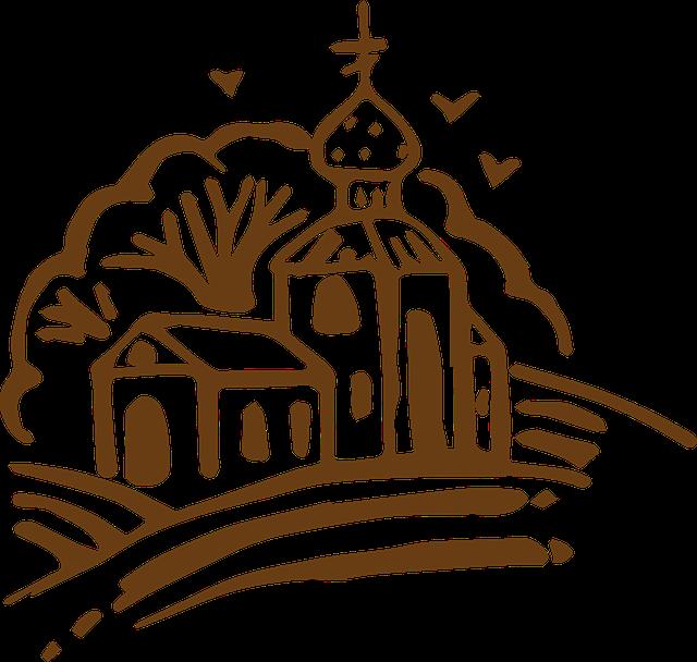 grafika kościoła