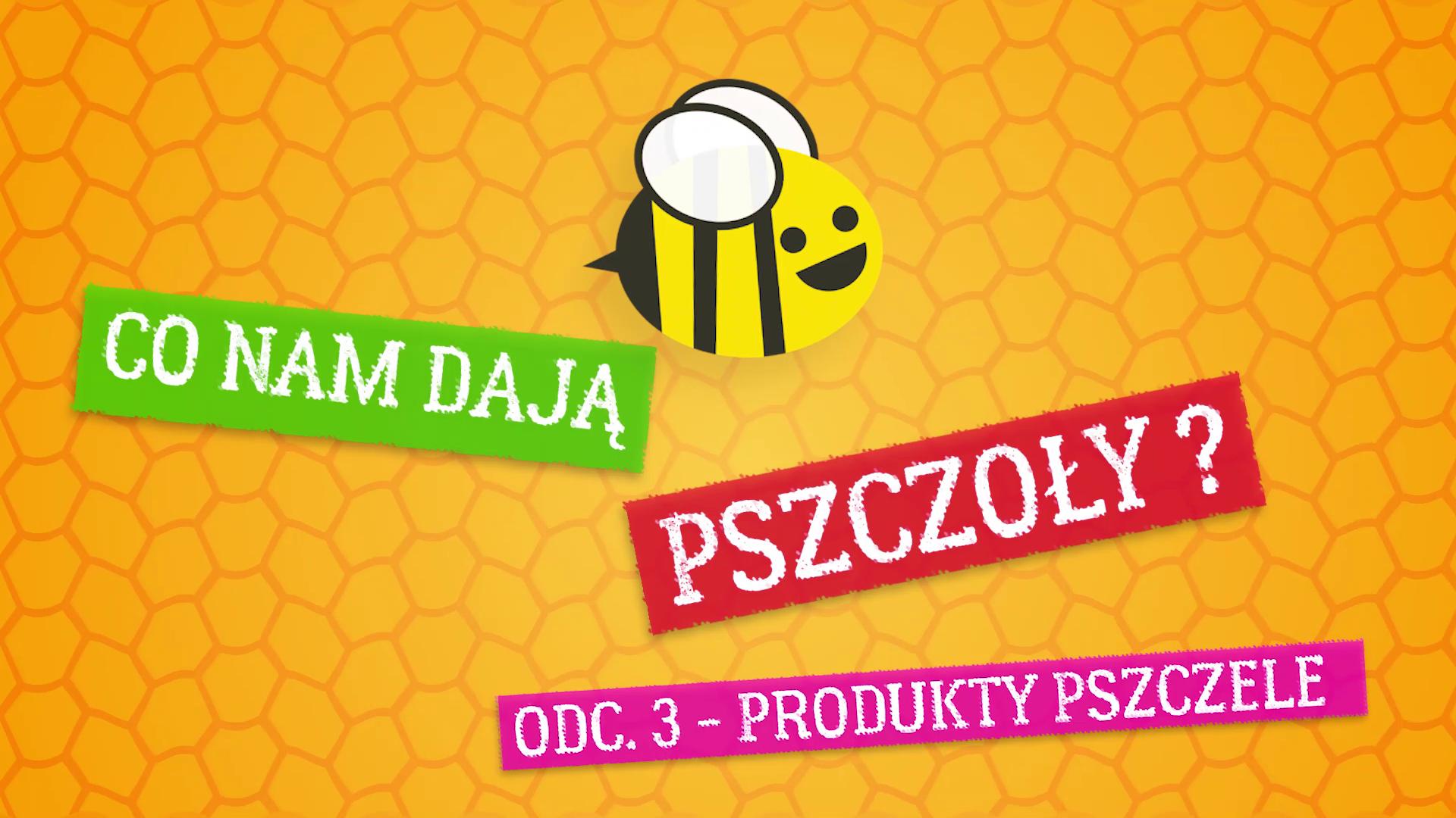 Co nam dają pszczoły ? Odcinek 3 – produkty pszczele
